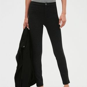 Banana Republic Ponte Twill Legging, Black